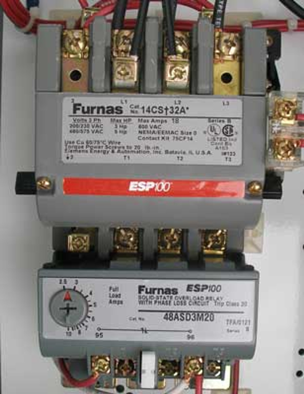 Siemens 17CSD92NF11 Size 0 Fusible Combination Starter 3PH 5HP Nema 12 - New