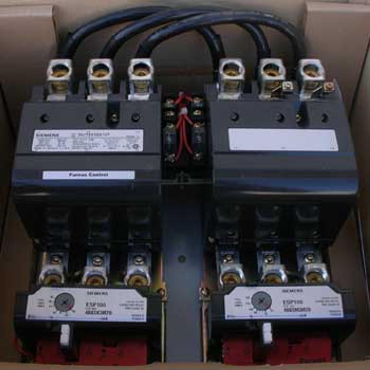 Siemens 30JTMK32A1VF NEMA Size 4 Two Speed Magnetic Starter 120V - New