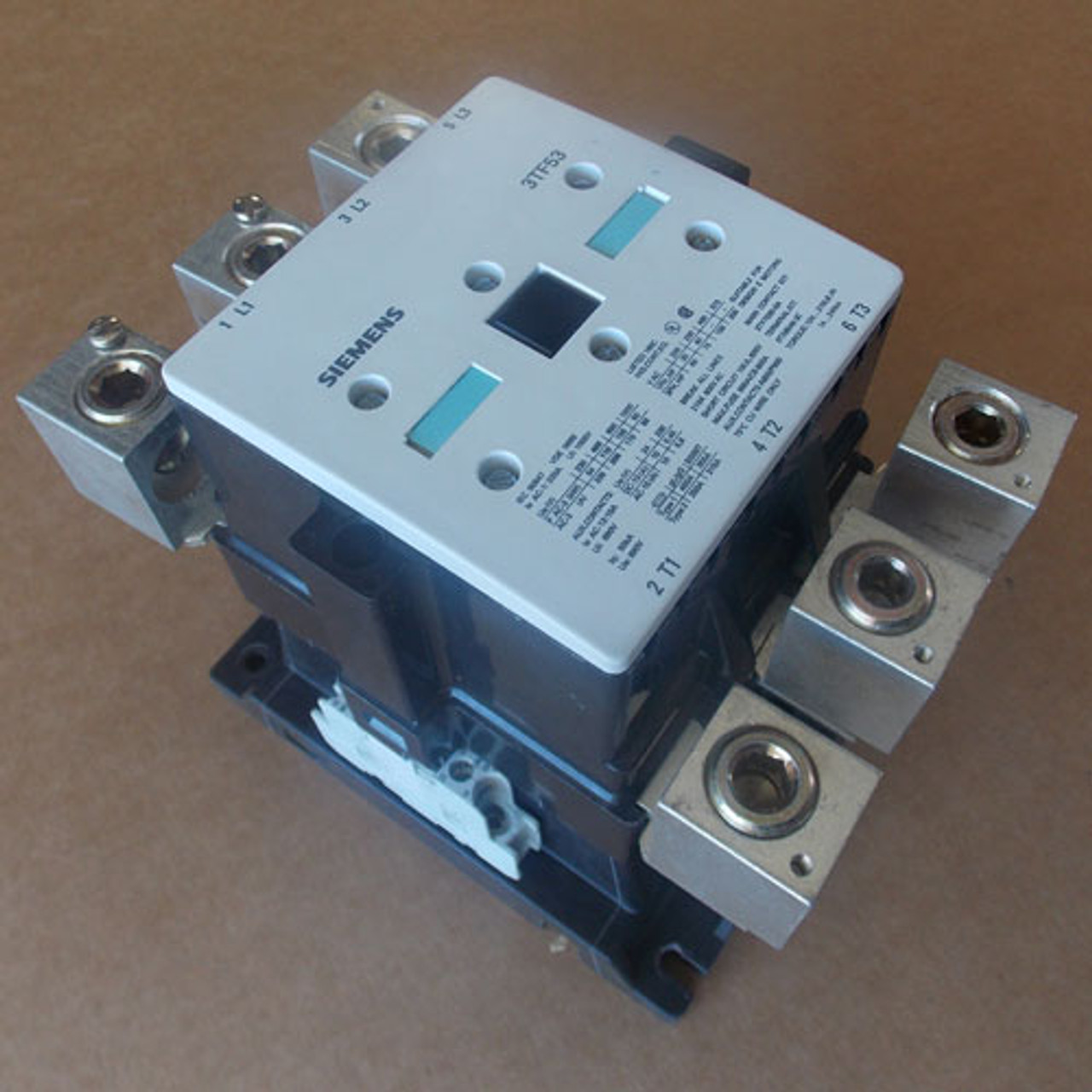 Siemens 3TF53 Magnetic Contactor 3 Phase 210 Amp 208V Coil - Used