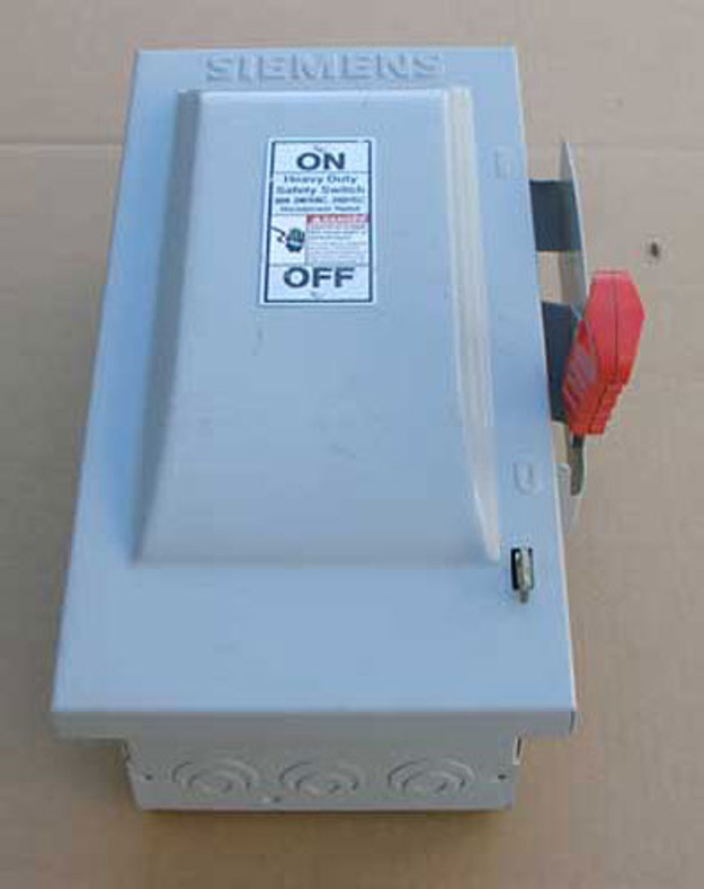 Siemens HF221N HD Fusible Safety Switch 30A 240VAC NEMA 1 - New