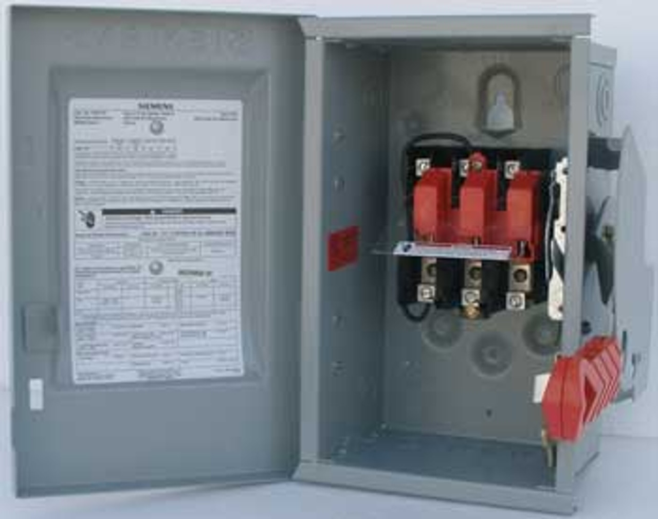 Siemens HNF261 30A 3P Heavy Duty NF Safety Switch 600V - Used