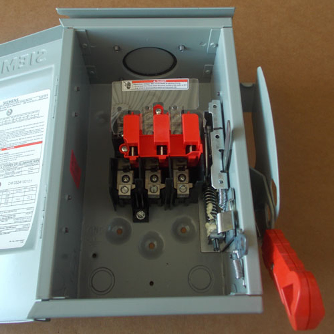 Siemens HNF361R HD Non-Fusible Safety Switch 30A 600V Nema 3R - New