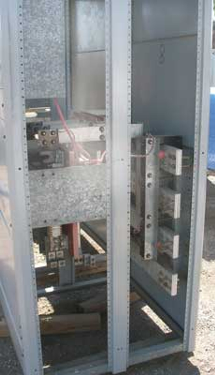 Siemens QA-1233 1200 Amp 480V Fusible Switchboard Section - Used