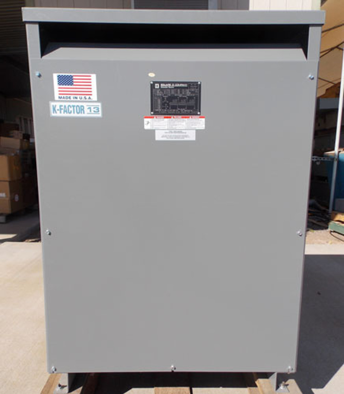 Square D EE112T1814 K-Factor 112.5 KVA 480 to 480Y/277V 3PH Transformer N1 - CALL FOR QUOTE