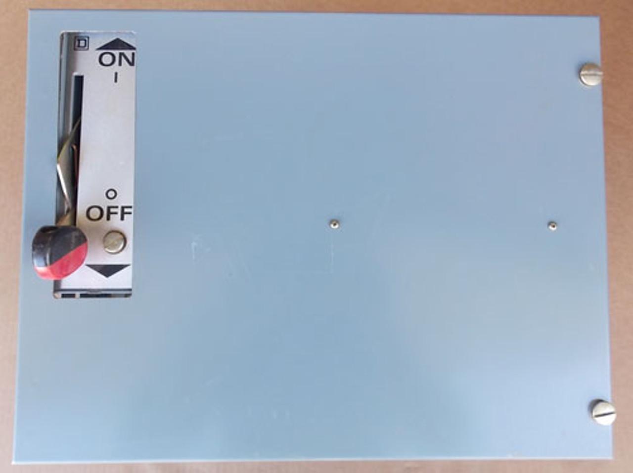 "Sq D Mod 5 Motor Control Center Feeder Bucket 30A 480V 3P 12""(H) - Used"