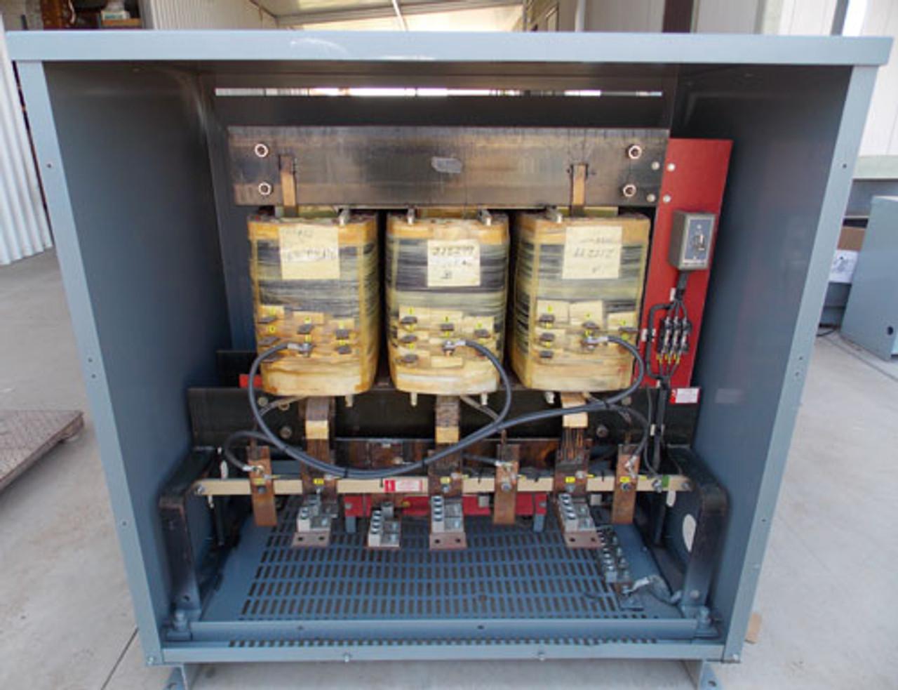 Square D 225T3HBISFILCU 225 KVA 480V to 208Y/120V 3PH Transformer N1 - Reconditioned