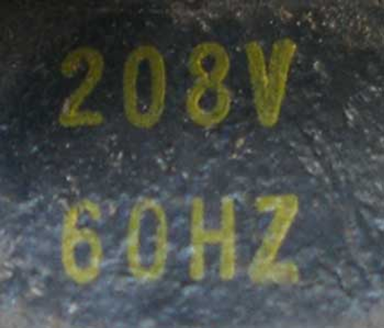 Square D 8536-AG2 Size 00 Starter 3 Pole 208 Volt Coil Open - Used
