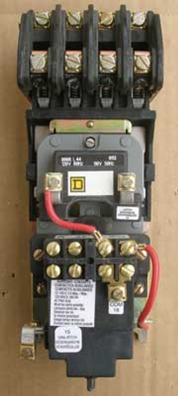Square D 8903-LXO40  4 Pole 20 Amp Lighting Contactor Open - Used