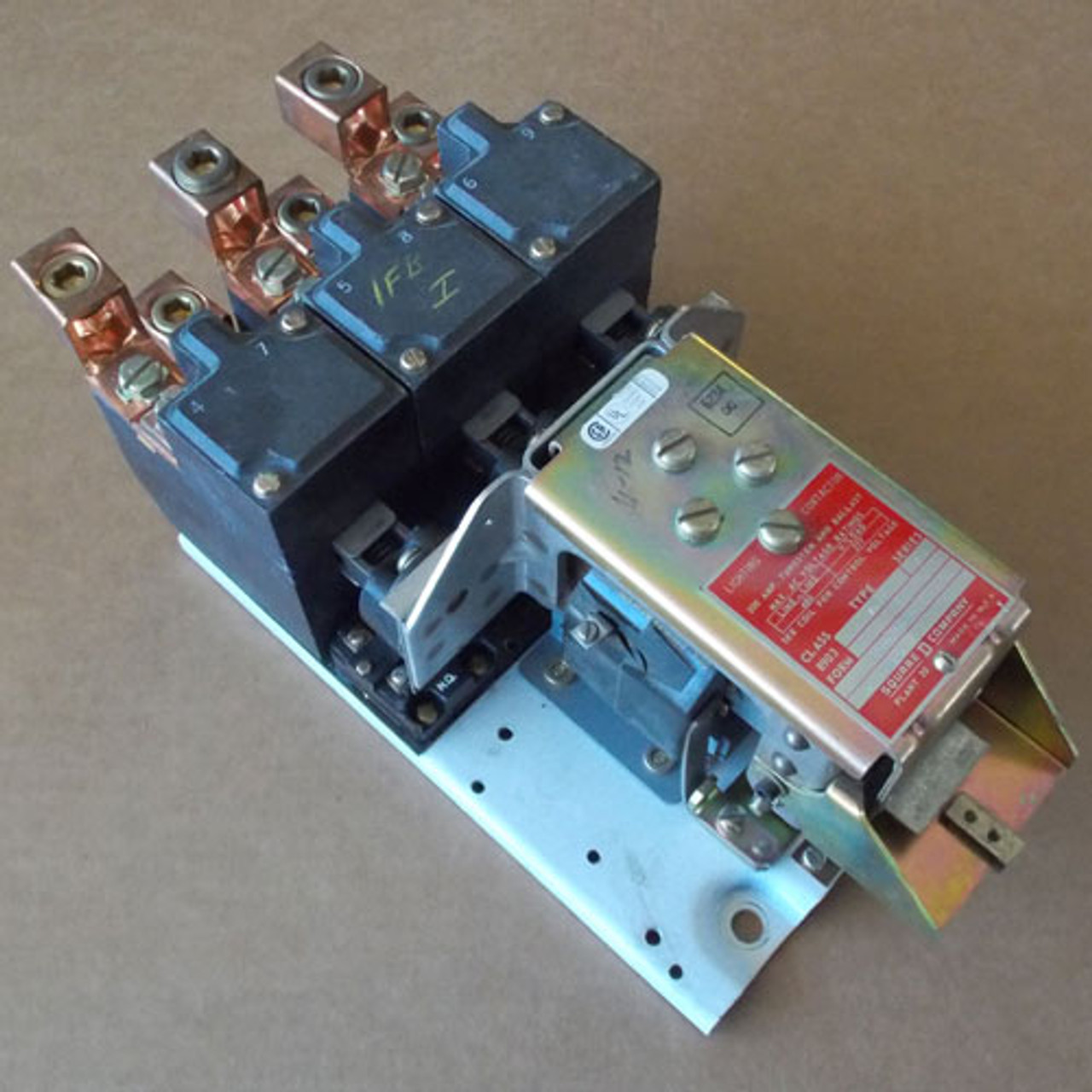 Square D 8903-VO11 3 Pole 200 Amp Lighting Contactor 208V Open - Used
