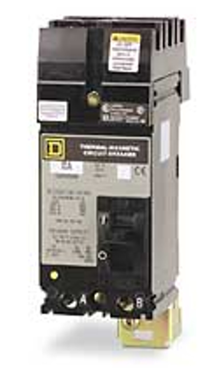 Square D FA26020AC 2 Pole 20 Amp 600VAC AC Phase Circuit Breaker - New