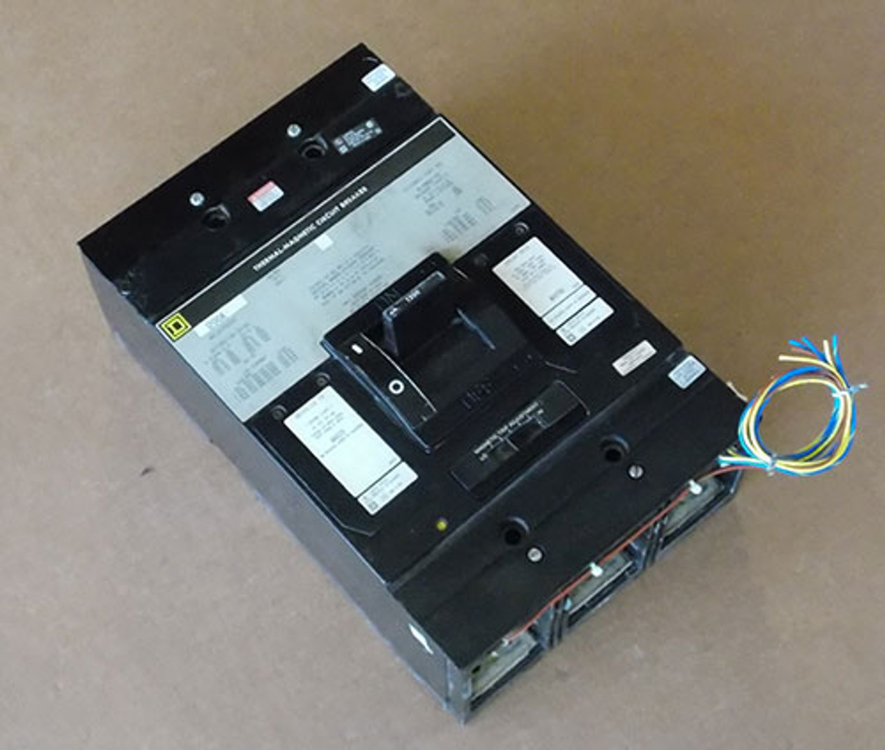 Square D MHL3612001287 3P 1200A 600V Molded Case Switch - Used