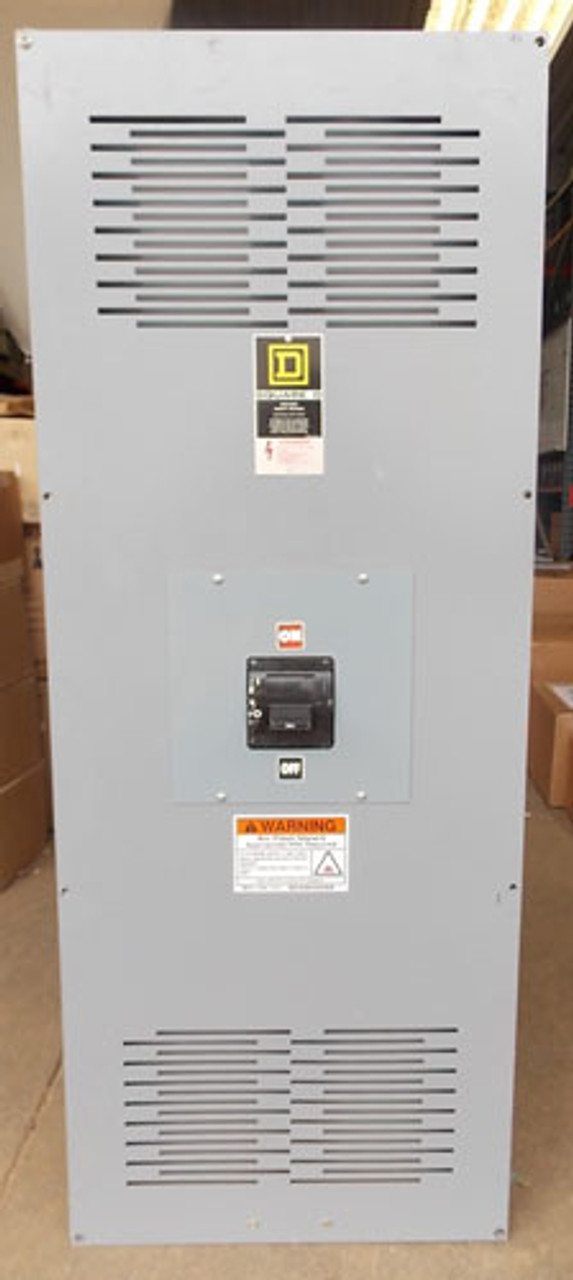 Square D MHL36120040DC1680 1200A 600V 3P Enclosed N1 Circuit Breaker - Used