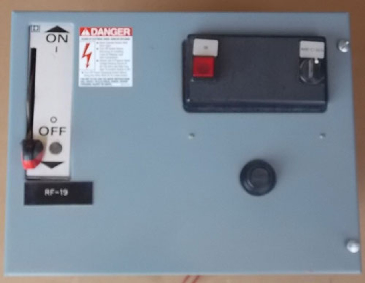 Square D Model 5 Size 2 MCC Bucket 3PH 25HP 480V 120V Coil - Used