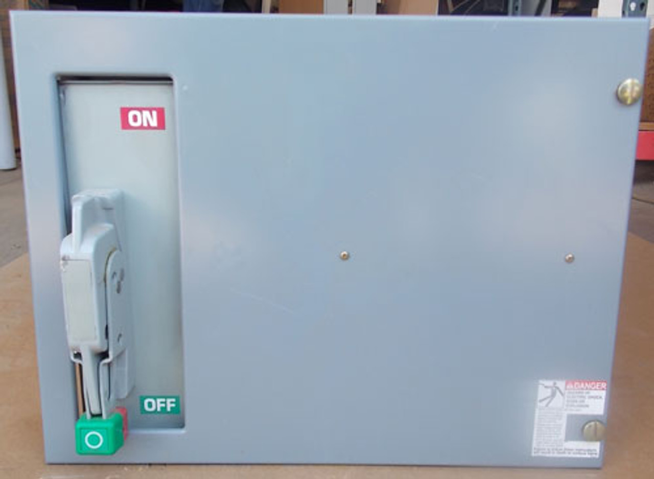 Square D Model 6 Fusible MCC Feeder Bucket 3PH 100A 480V - Used
