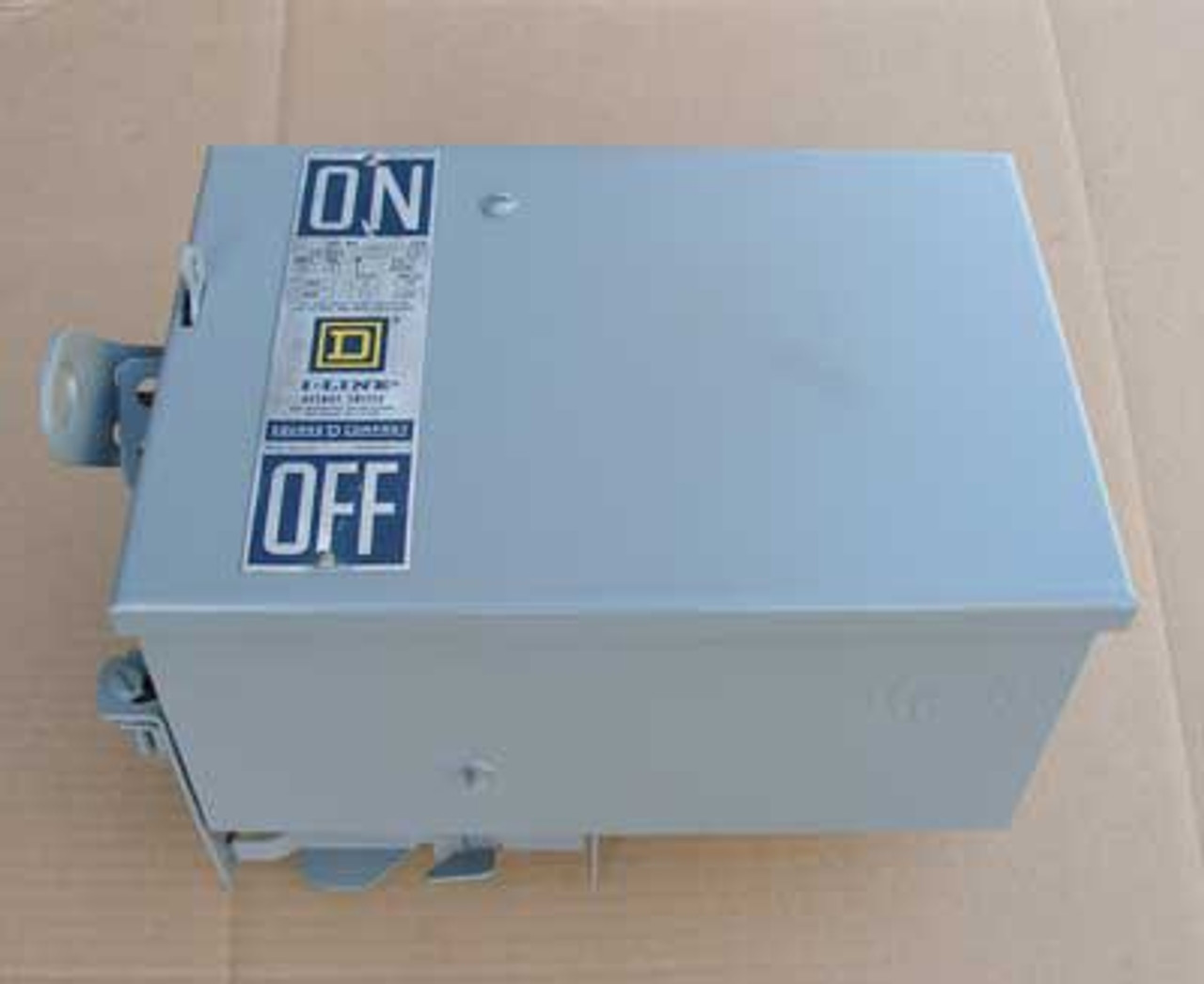 Square D PQ3603 3 Phase 4 Wire 30 Amp 600VAC Fusible Busway Switch - Reconditioned