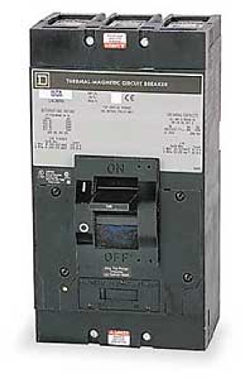 Square D Q4L3250MB 3 Pole 250 Amp 240 VAC Circuit Breaker - Used