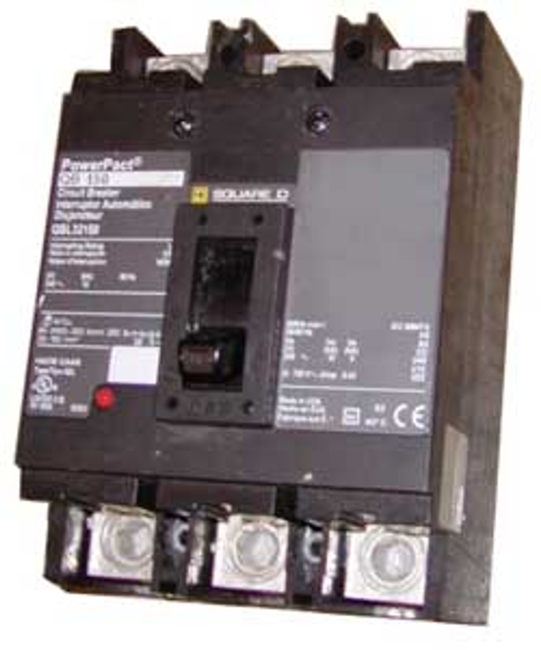 Square D QBL32200 3 Pole 200 Amp 240VAC Circuit Breaker - Used