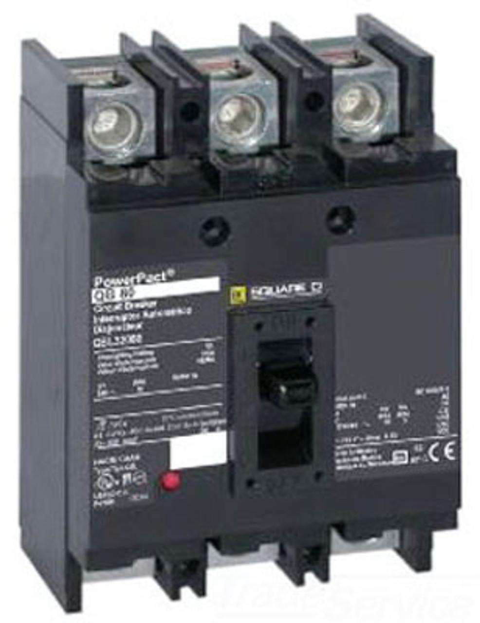 Square D QDP32225TP 3 Pole 225 Amp 240V Circuit Breaker - Used