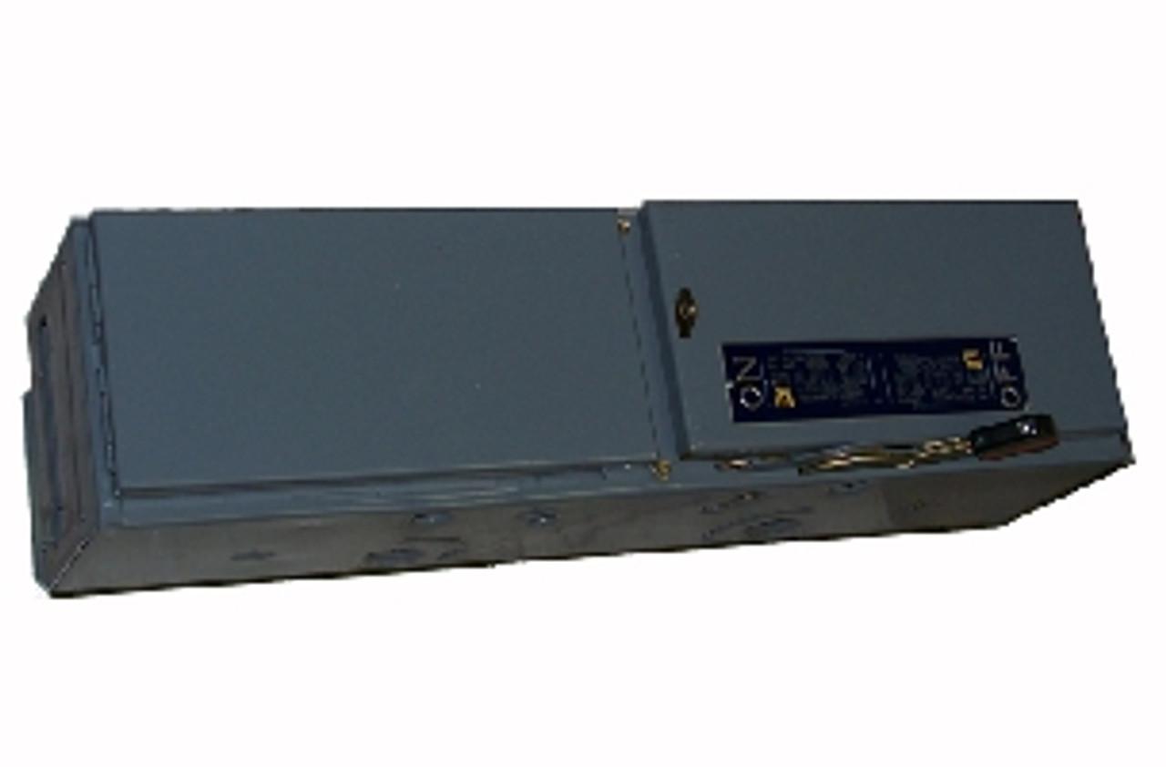 Square D QMB362HW 3 Pole 60 Amps 600VAC Single E1 Panelboard Switch 1 - Used