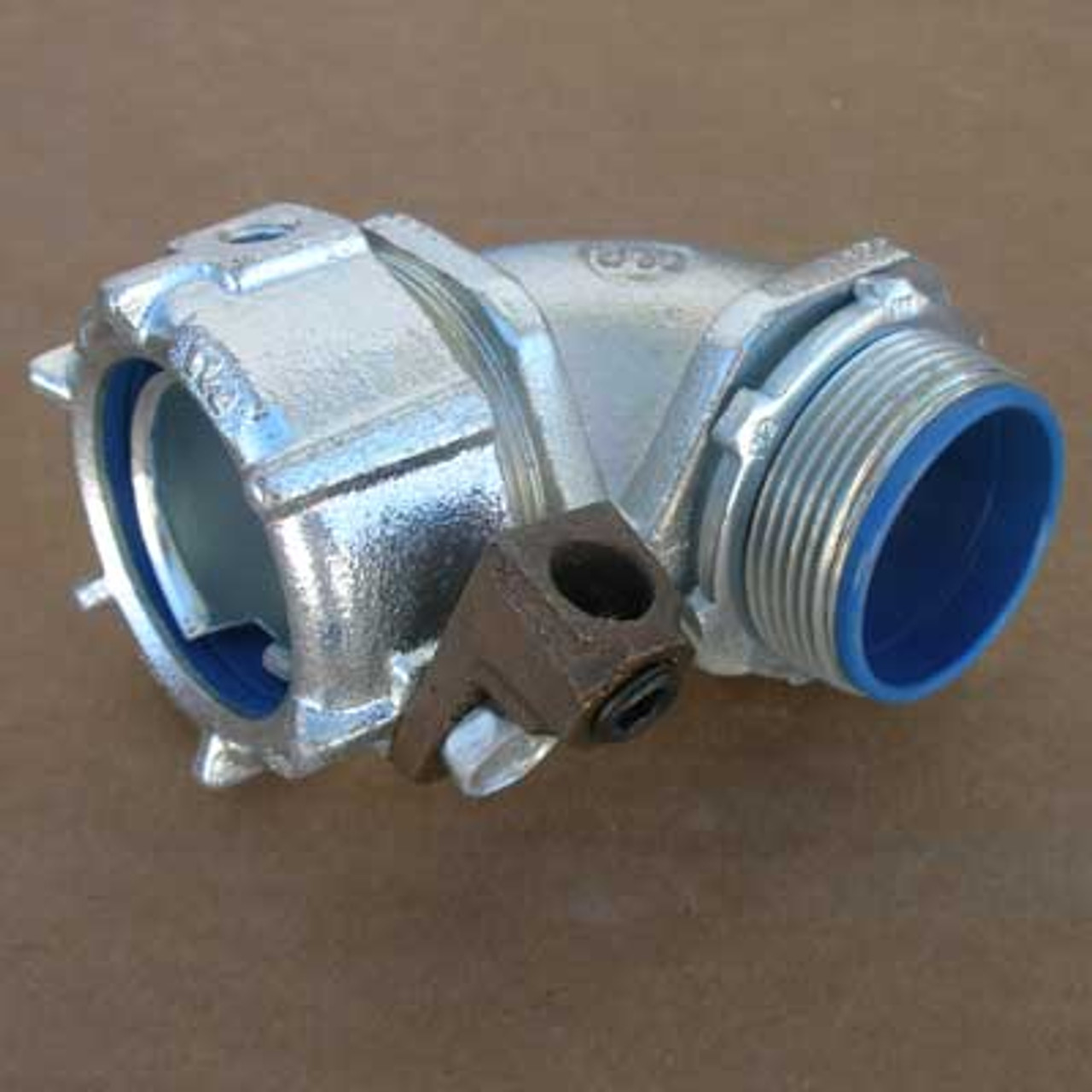 """New 2Pc T/&B 5346 1-1//2/"""" Connector w//45 Degree Angle"""