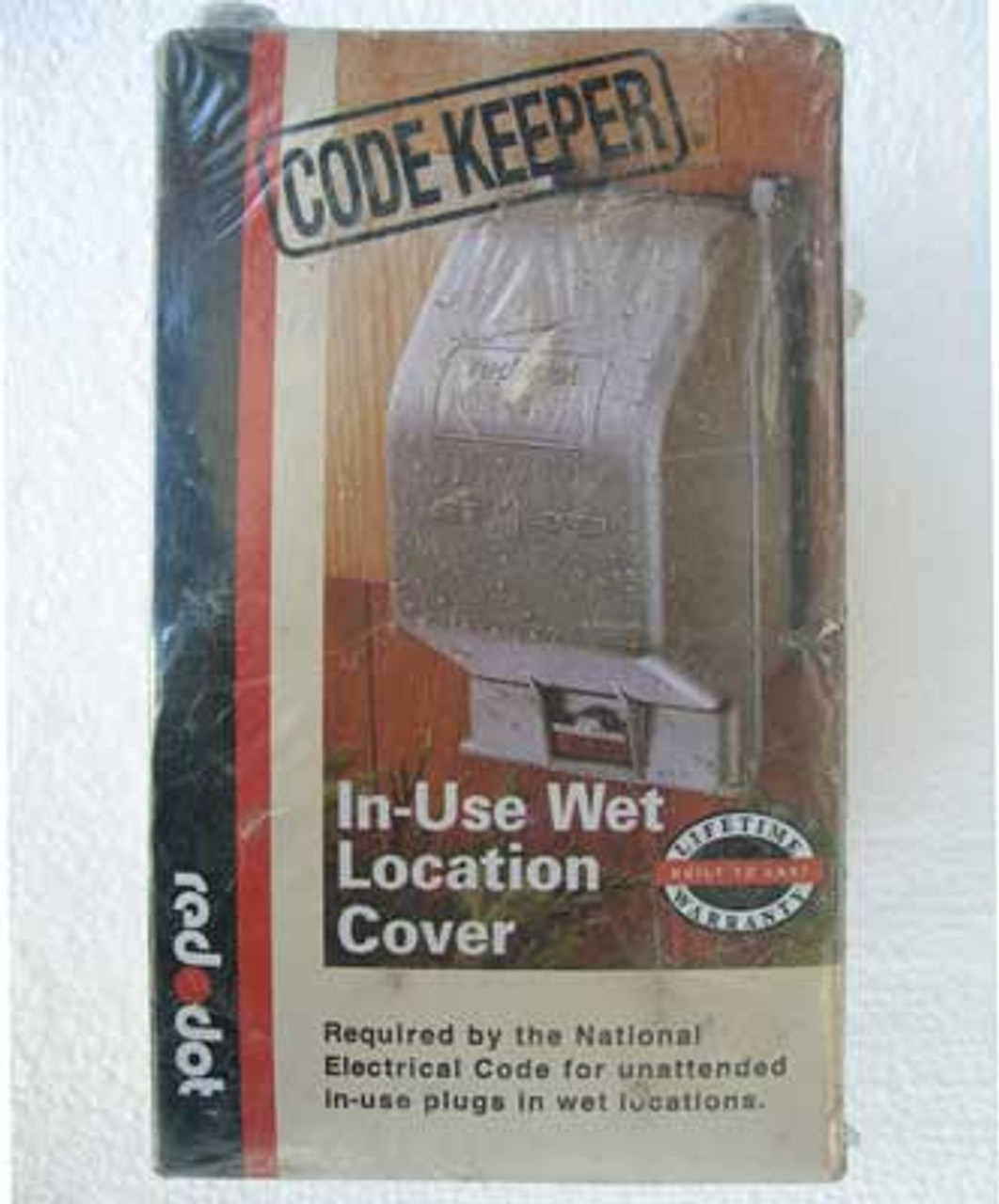 T&B CKMDV Red Dot Code Keeper In Use Wet Location Cover - New