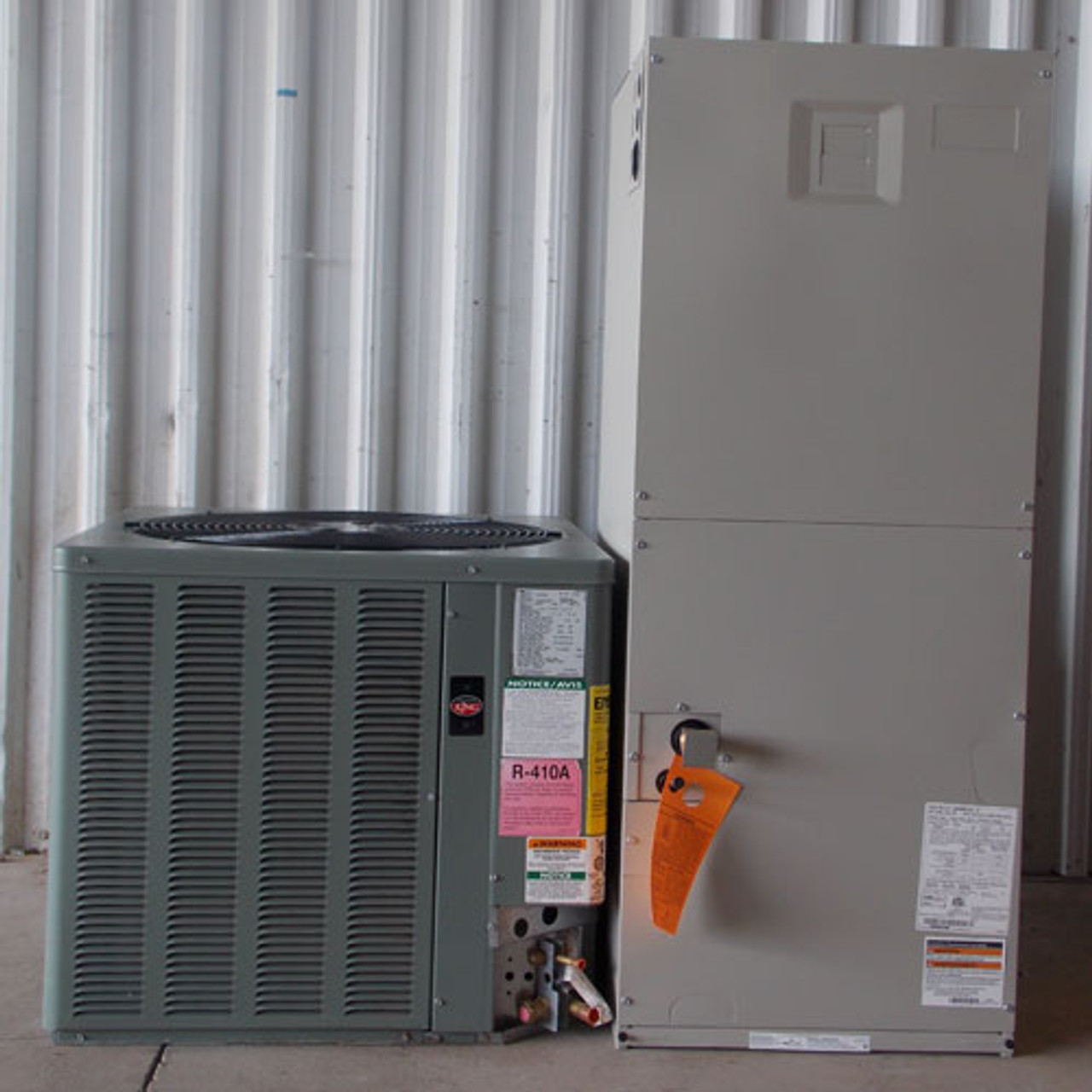 Weather King Air Condenser 13 SEER 2.5T R-410A 208-230V w/ Air Handler - New