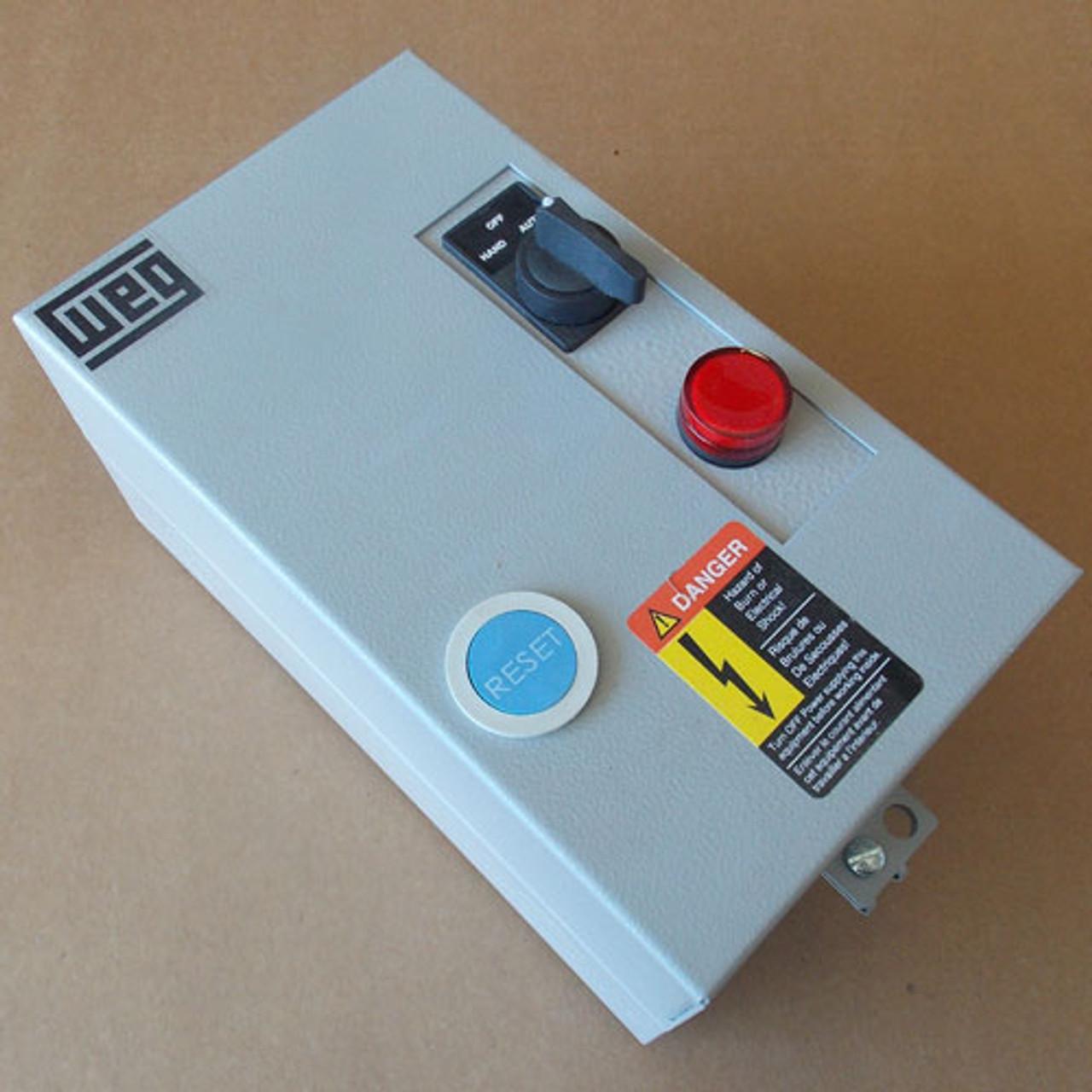 Weg ESW-9V18E-R26 Magnetic Starter 120V Coil, New