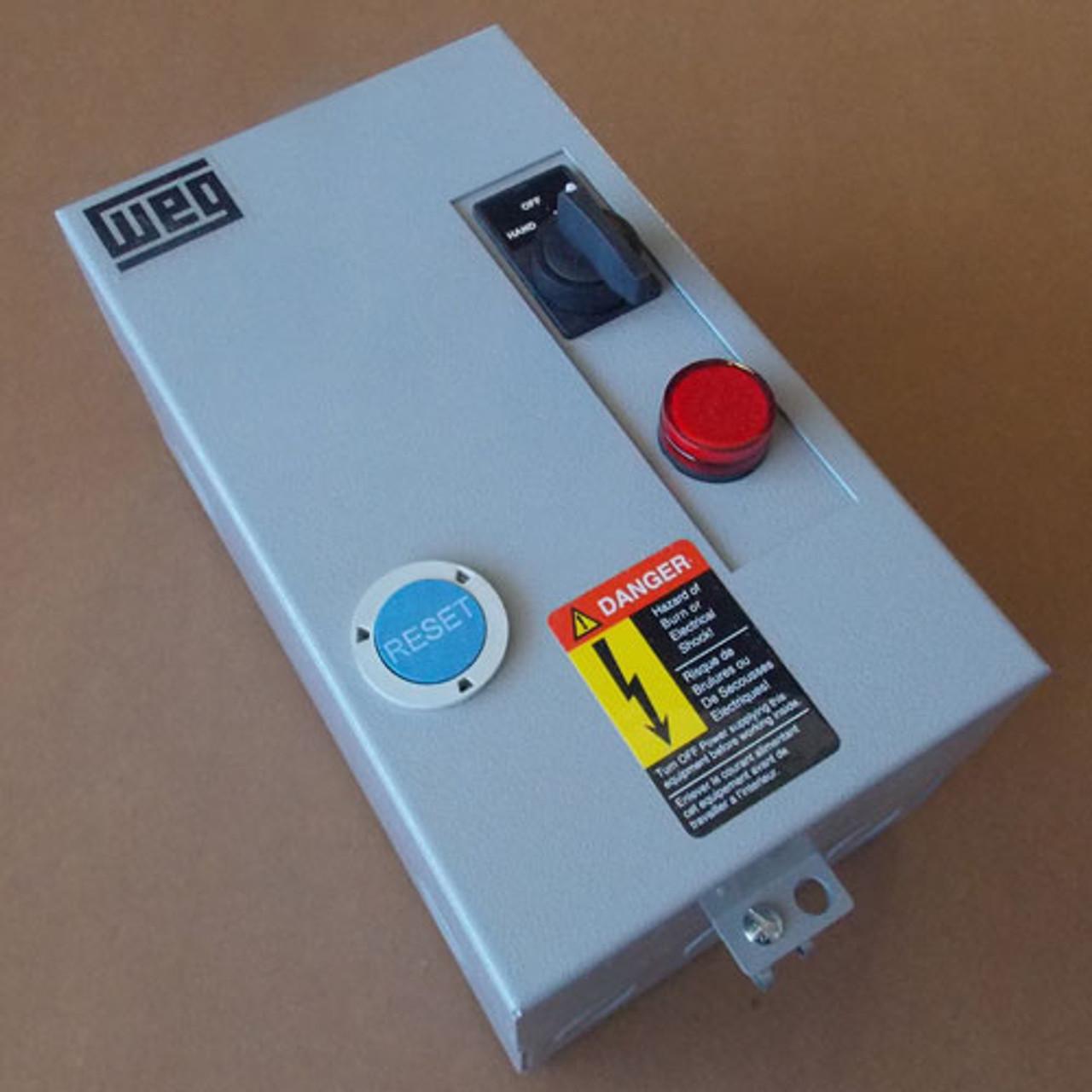 Weg ESW-9V18E-R28 Magnetic Starter 120V Coil, New