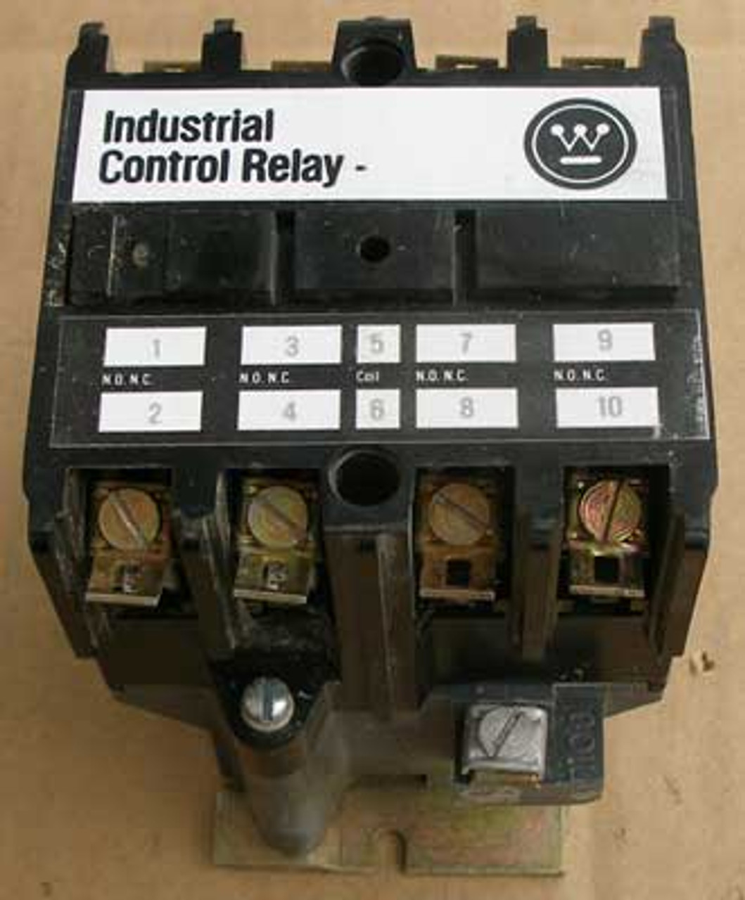 Westinghouse ARB440A Industrial Control Relay 300V 4 Pole 10 Amp - Used