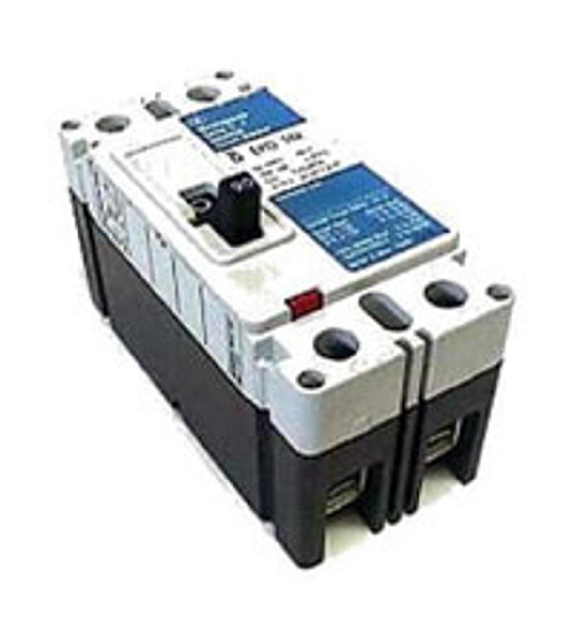 Westinghouse EHD2060 2 Pole 60 Amp 480VAC Shunt Trip MC Circuit Breaker - Used
