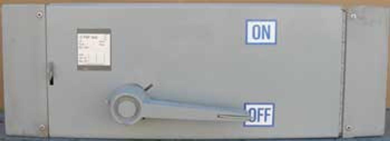 Westinghouse FDPS324 200 Amp 3 Pole  240V Panel Switch - Used