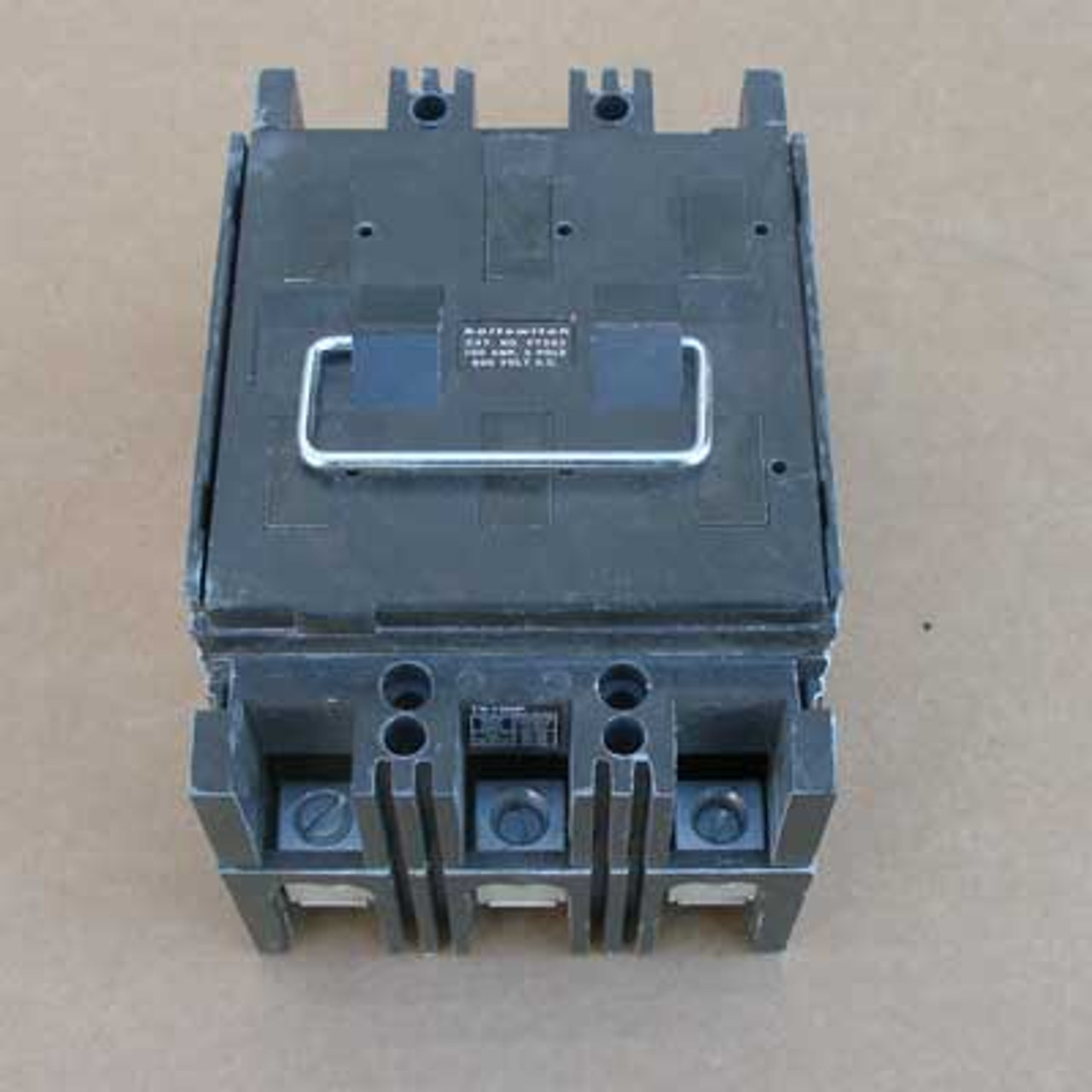 Boltswitch PT363 3 Pole 100 Amp 600V Pullout Switch - Used