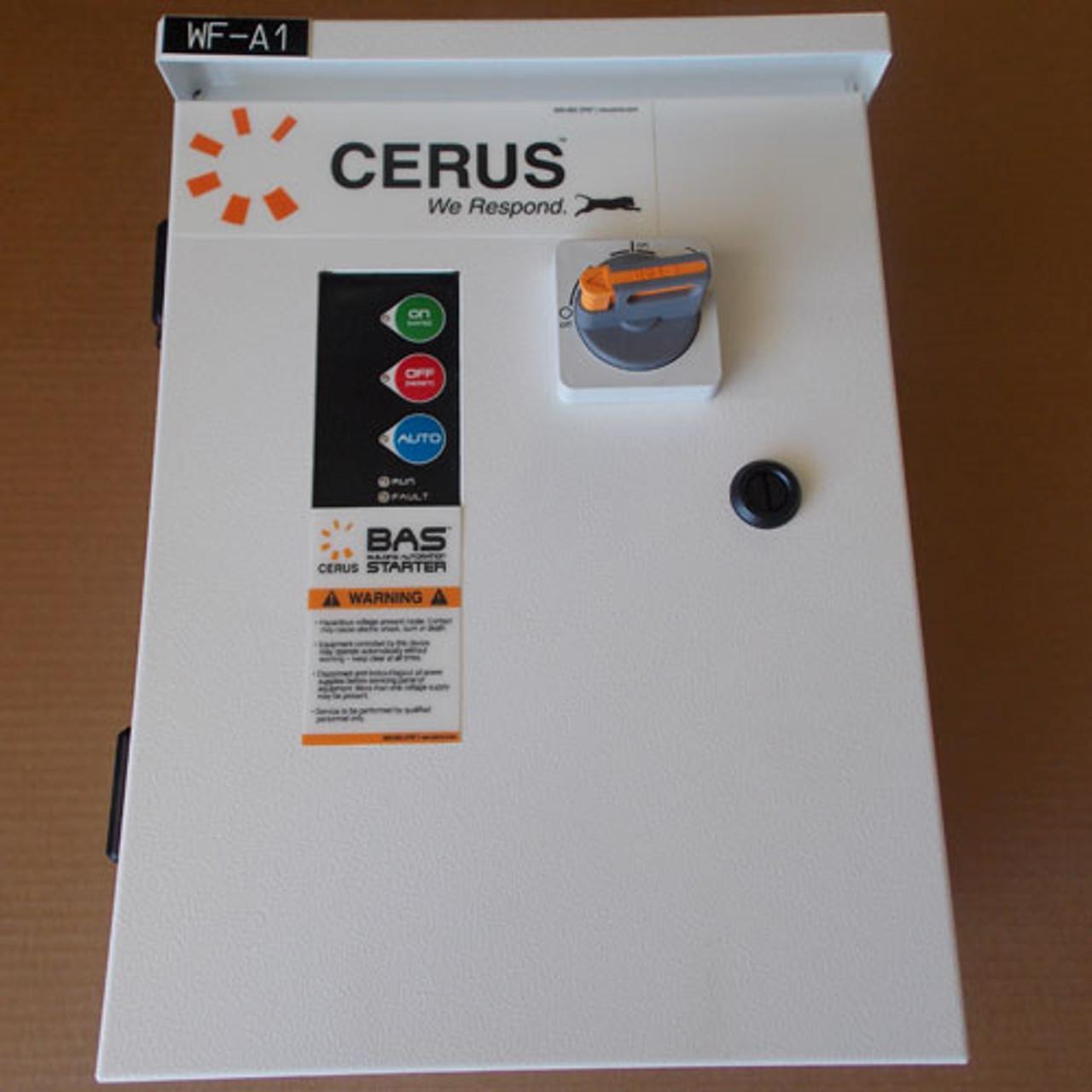 Cerus BAS3R-18/J-G6-5 Sz 0 Building Automation Starter 3PH Nema 3R - New