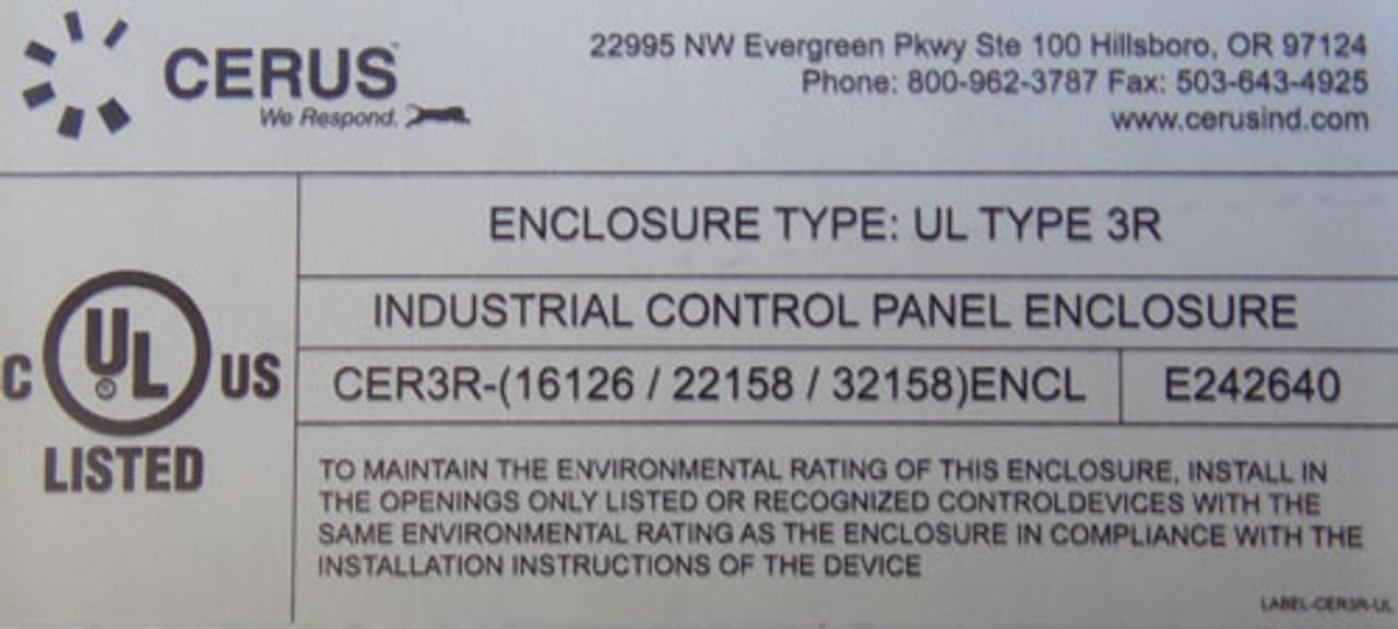 Cerus EMS3R-50/J-G26-50 Size 2 Energy Management Starter 3P N3R - New