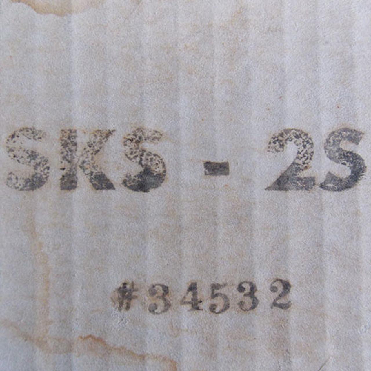 Hoffman SKS-2S Flush Mount Security Switch w/ Keys Nema 12 - New