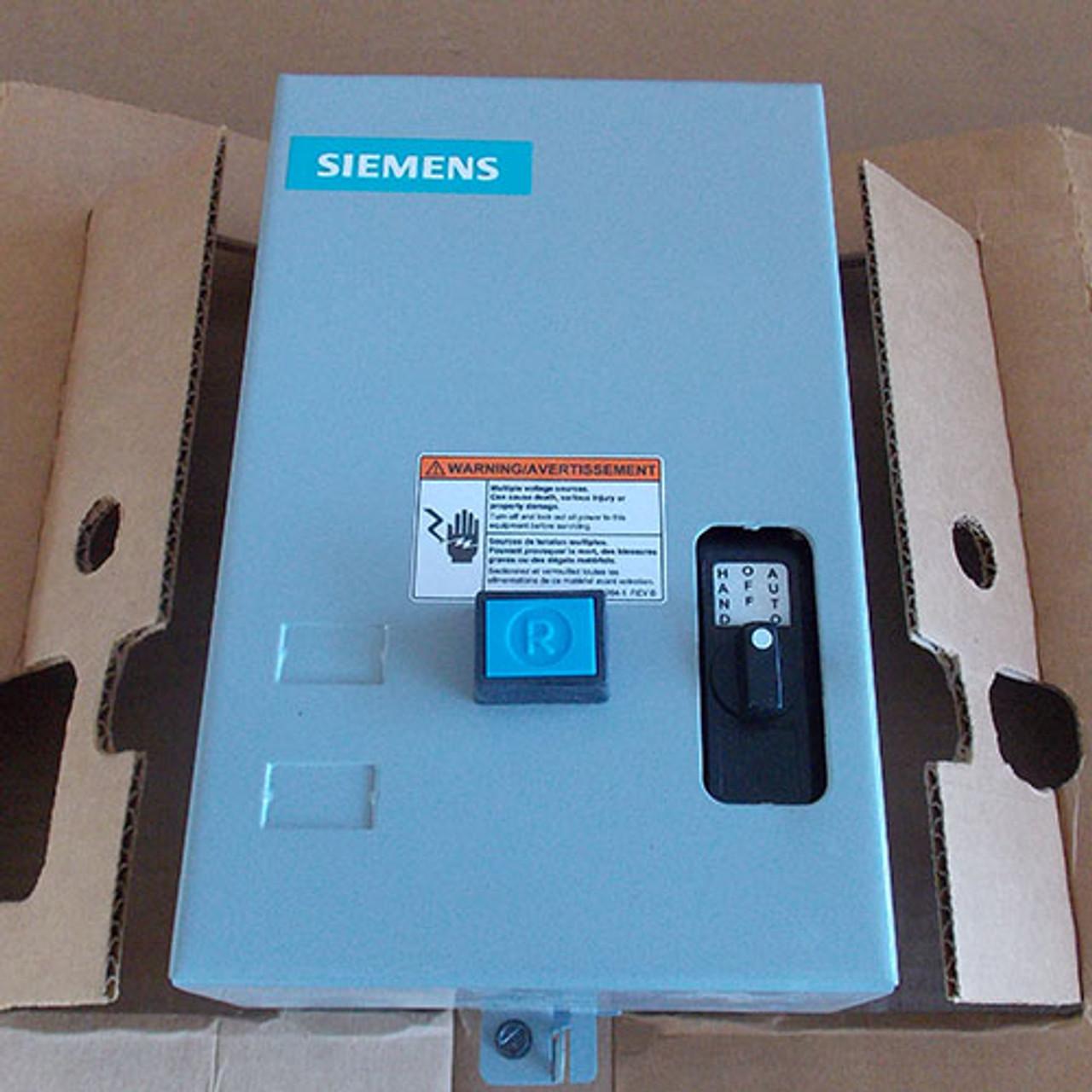 Siemens 14CSB32BF Size 0 Magnetic Starter 3 PH 18A 120V NEMA 1 - New