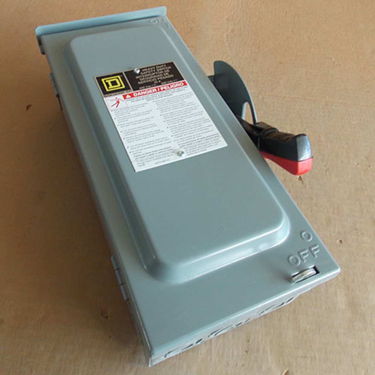 Square D HU361RB Heavy Duty NF Safety Switch 30A 600V Nema 3R - New