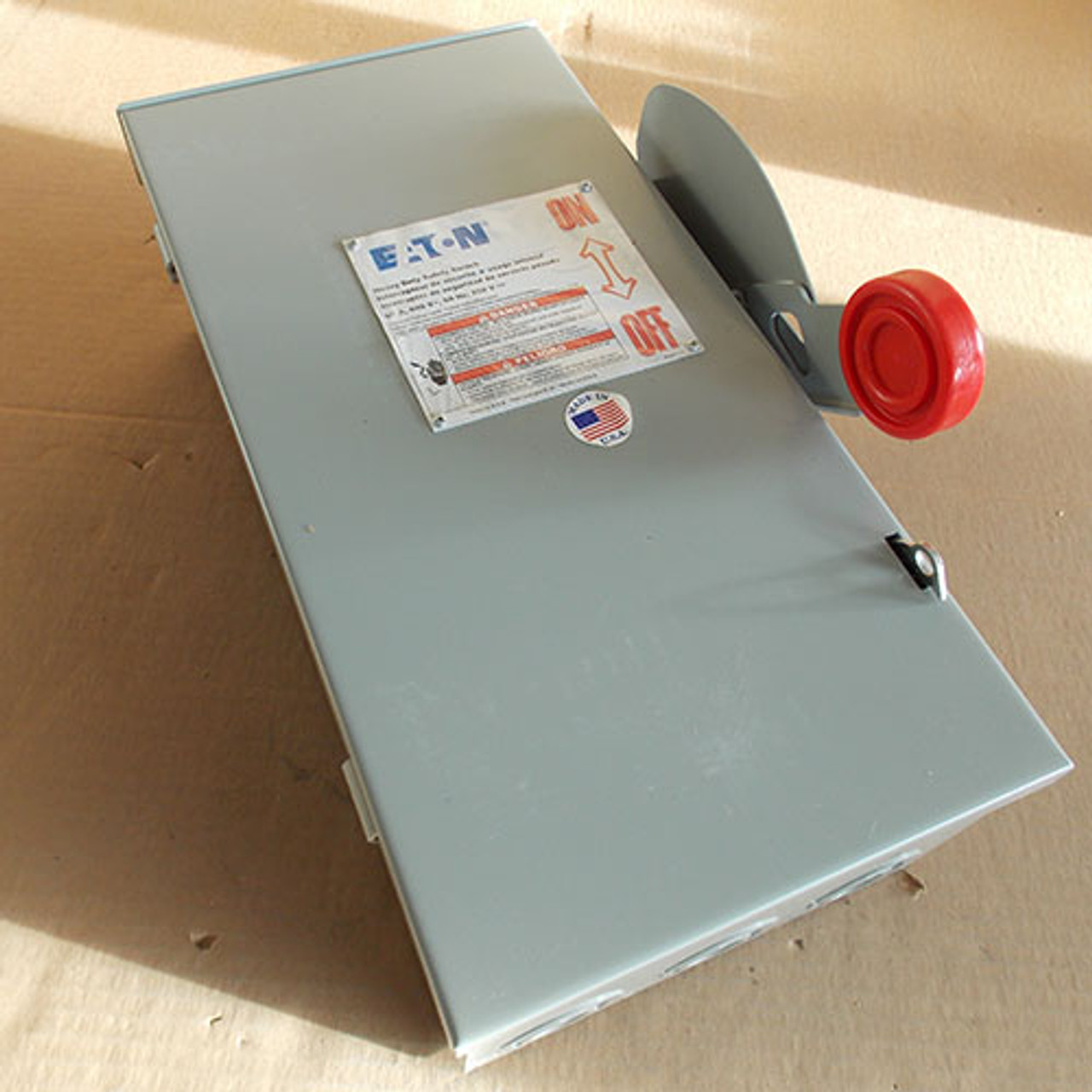 Eaton Cutler Hammer DH362URK Heavy Duty Non-Fusible Safety Switch 3P 60A 600VAC Nema 3R - New