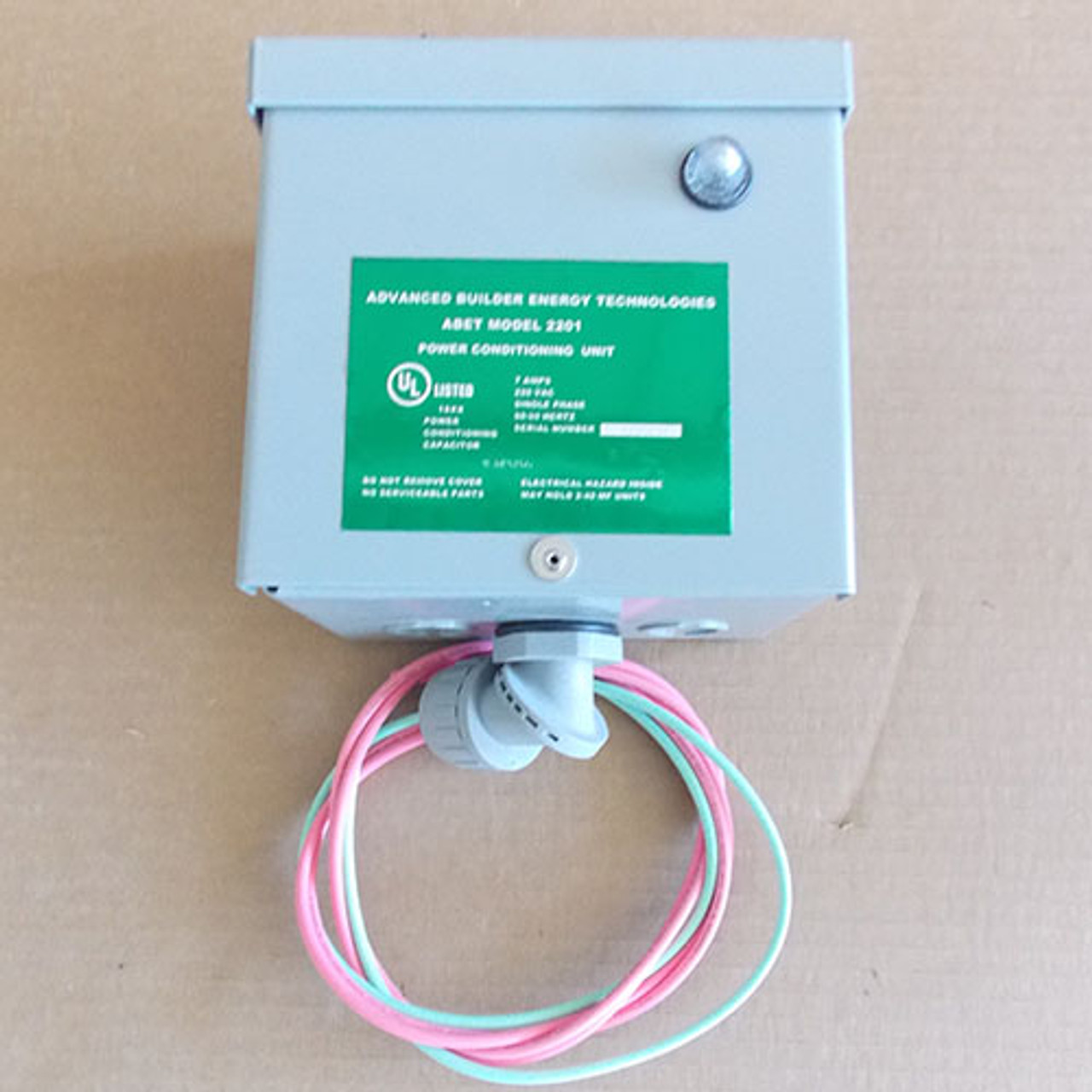 ABET Model 2201 Power Conditioning Capacitor 7 Amp, 220VAC, Single Phase  - New