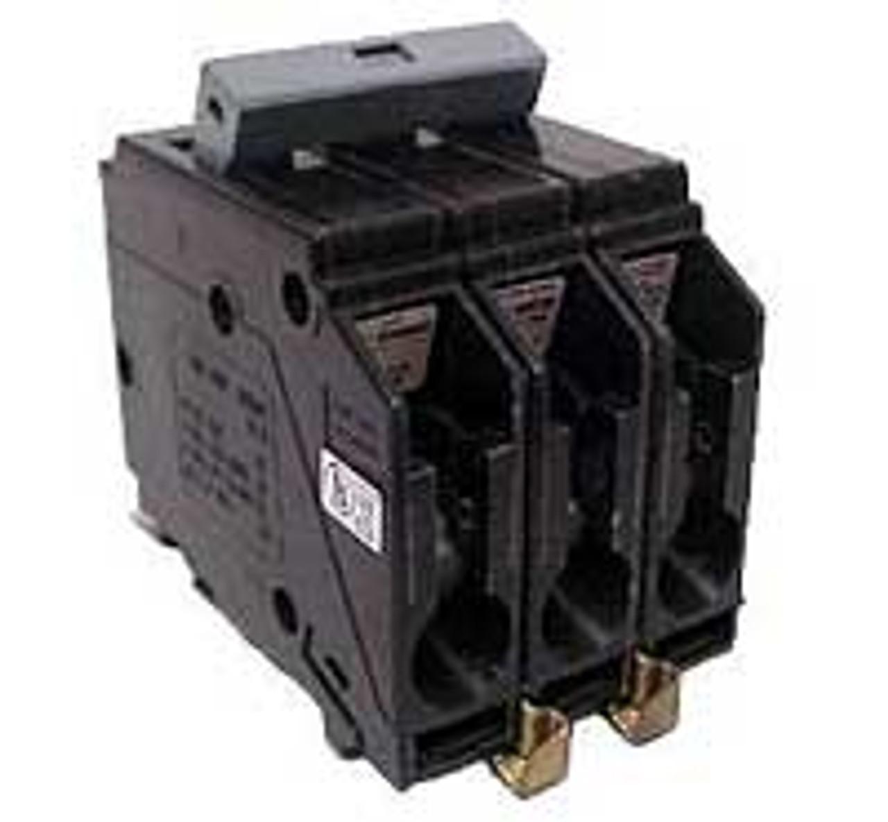 Cutler Hammer CHB330 3 Pole 30 Amp 240VAC Circuit Breaker - Used
