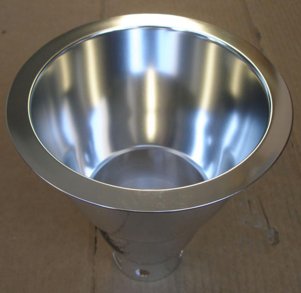 "Lightolier 8021CLP 6"" Aperture Triple Tube Downlight Reflector Trim - New"