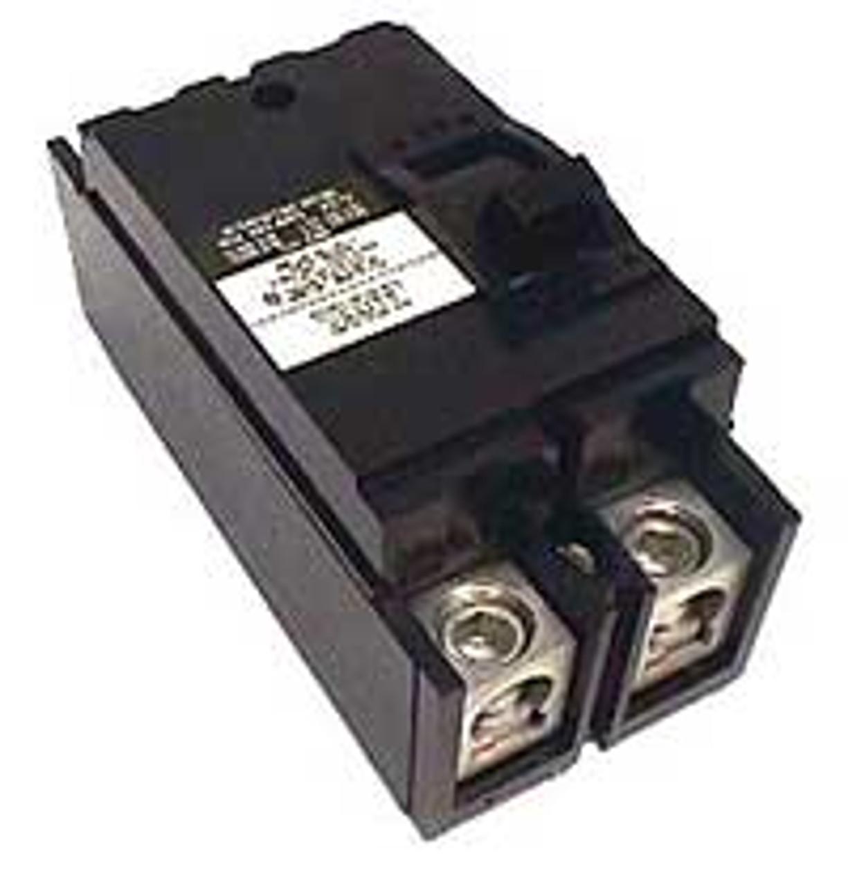 Square D Q2L2200 2 Pole 200 Amp 240VAC 10K MC Circuit Breaker - Used