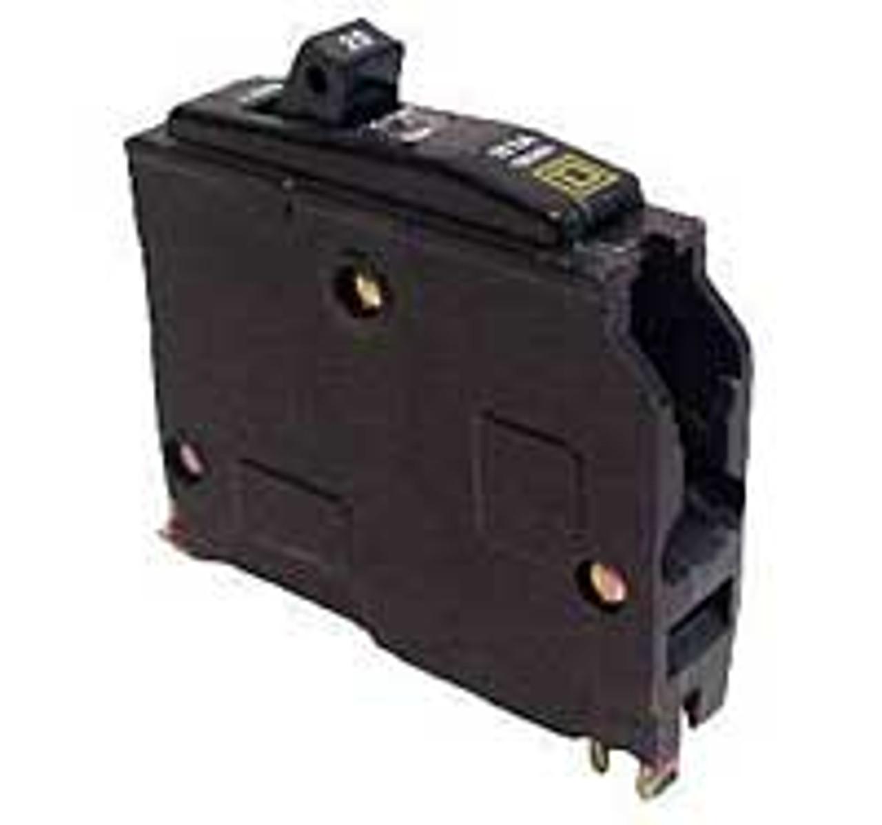 Square D QOB150 1 Pole 50 Amp 120VAC Circuit Breaker New Style - Used