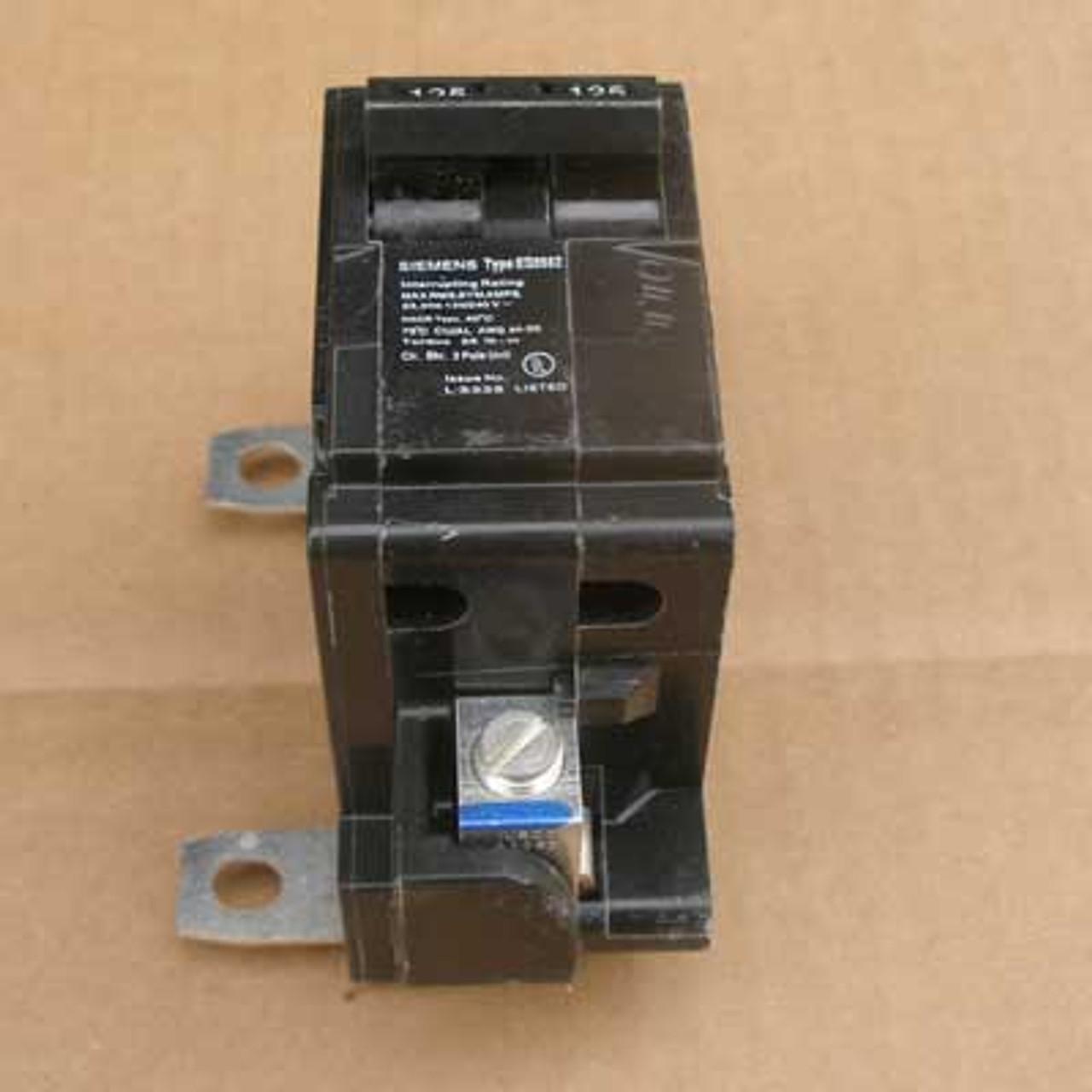 Siemens MBK150 2 Pole 150 Amp 240VAC Main MC Circuit Breaker - New