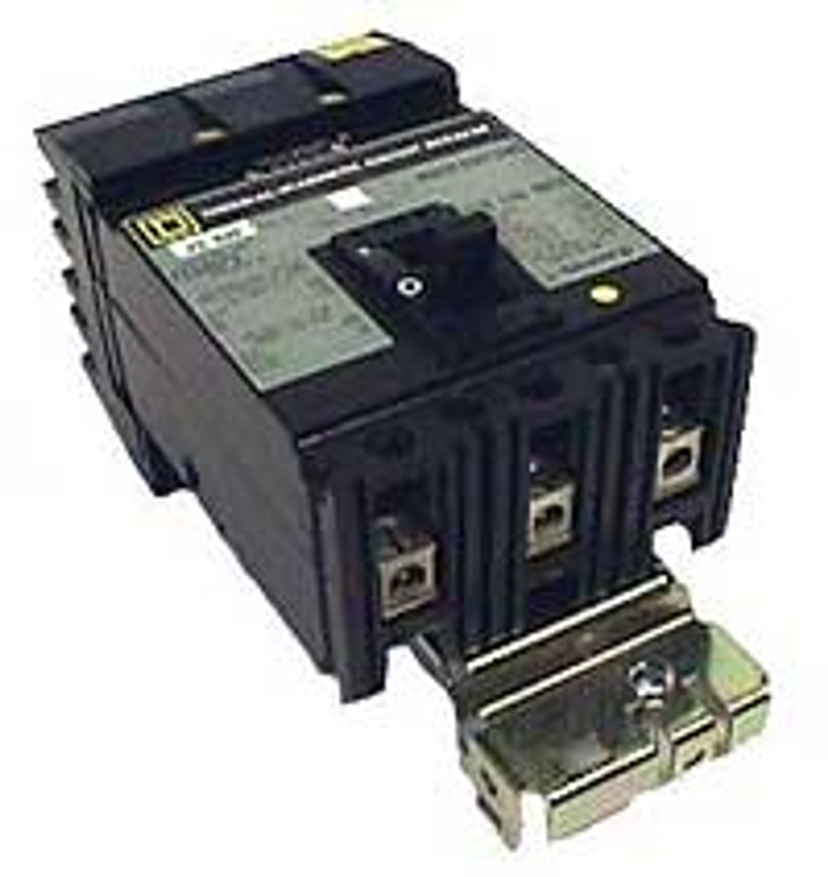 Square D FI36100 3 Pole 100 Amp 600VAC Circuit Breaker, New Style - New Pullout