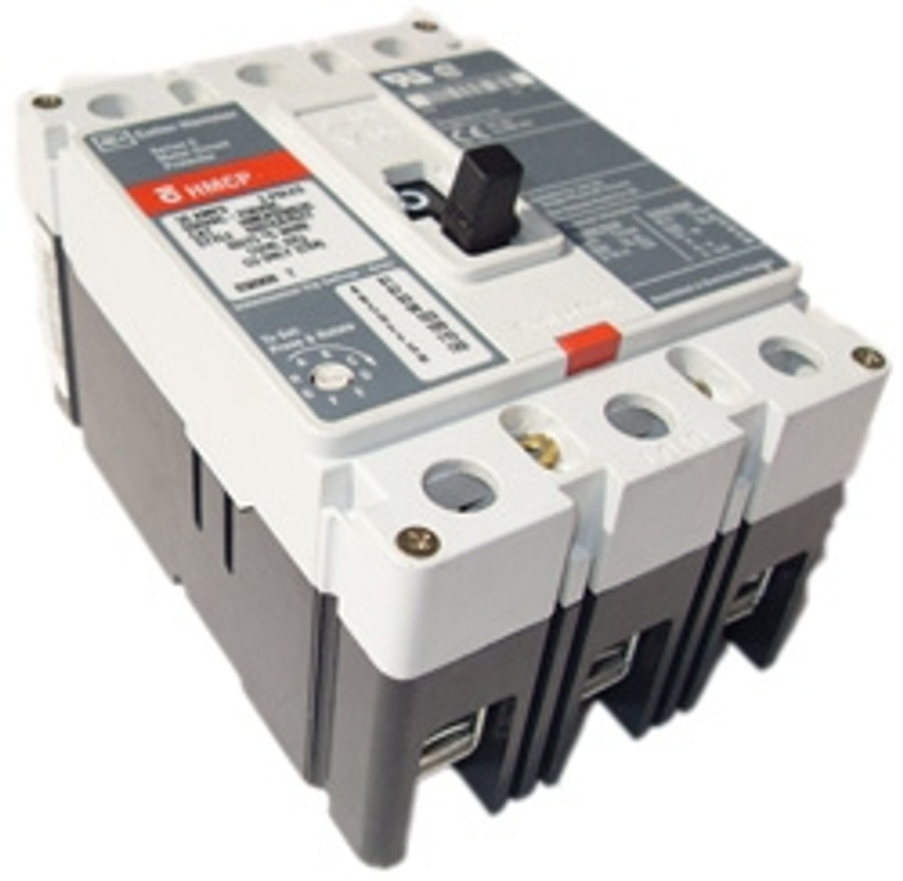 Westinghouse HMCP2505C 3 Pole 250A 600V (450-900) Circuit Breaker - Used
