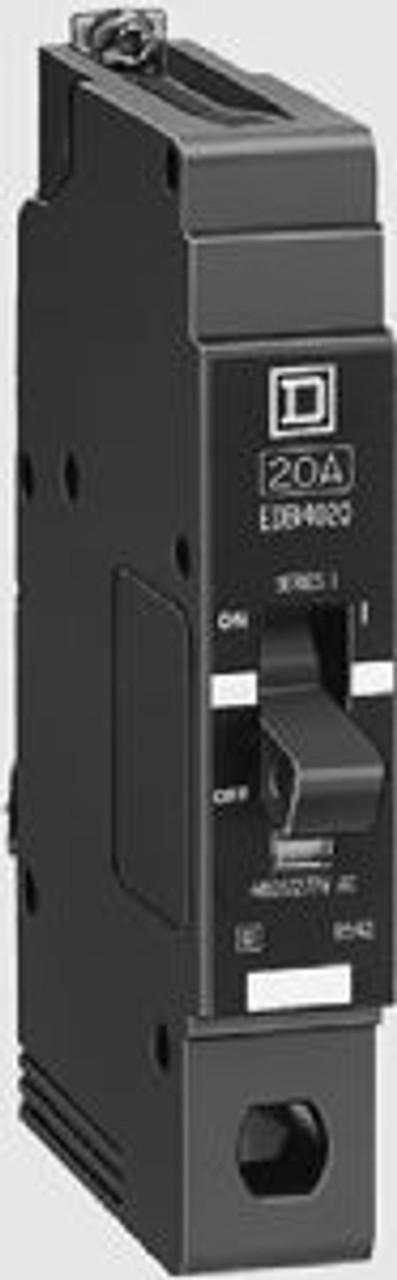 Square D EDB14045 1 Pole 45 Amp 277VAC Circuit Breaker - New