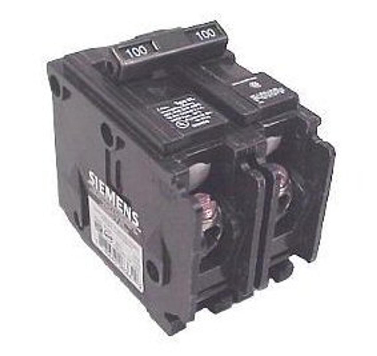 Siemens B22000S01 2 Pole 20 Amp 240V 120V Shunt, Type BL Circuit Breaker - NPO