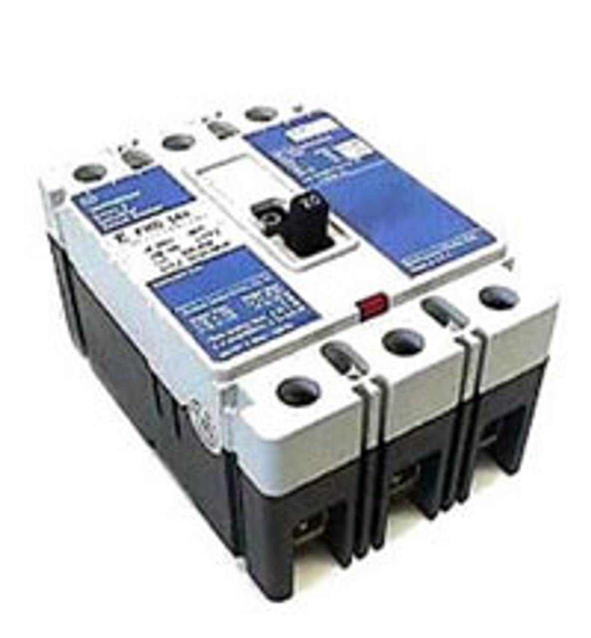 Cutler Hammer HFD3040 3 Pole 40 Amp 600VAC MC Circuit Breaker - NPO