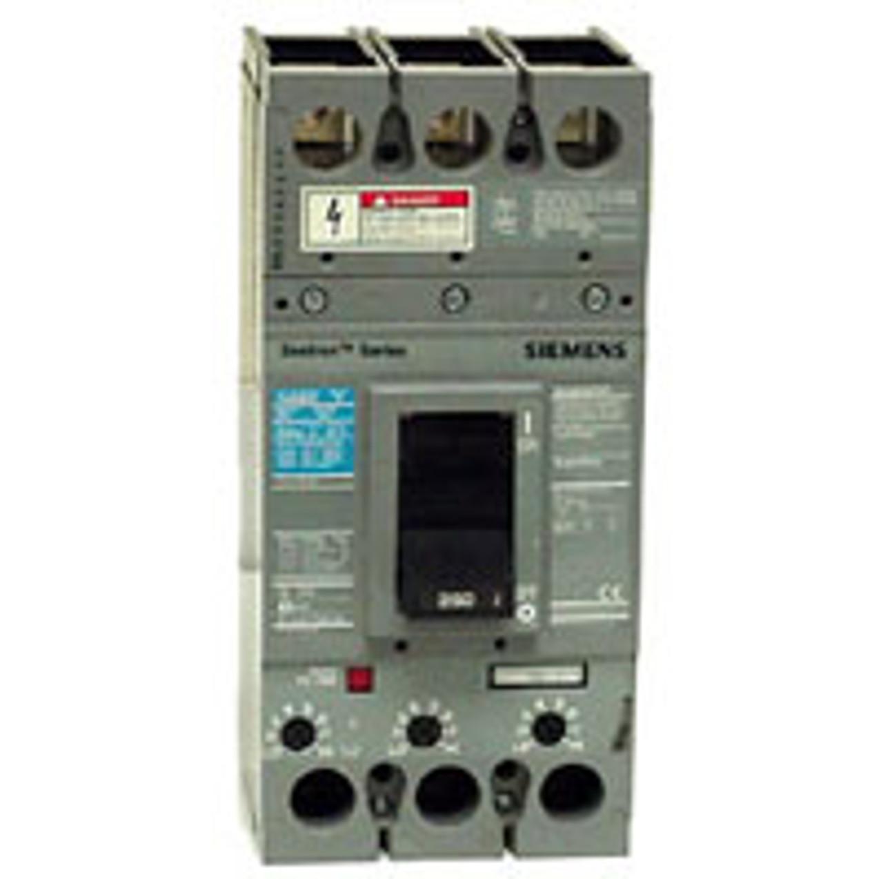 Siemens HFXD63B200 3 Pole 200 Amp 600VAC Circuit Breaker - NPO